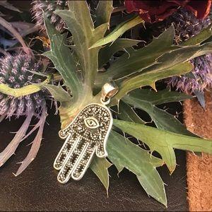 Jewelry - Sterling Silver Hamsa Hand